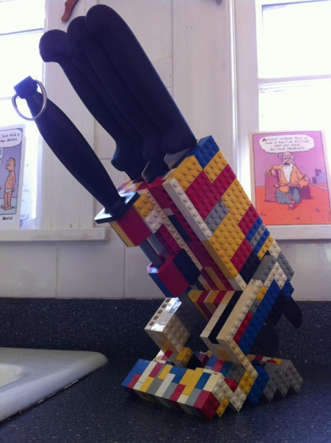 One of the amazing things you can do with all those legos.